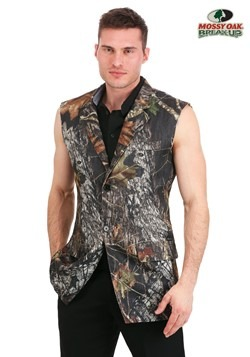 Sleeveless Tuxedo Jacket Mossy Oak
