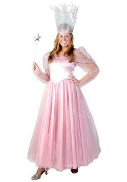 Deluxe Plus Size Glinda Costume