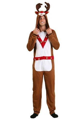 Reindeer Union Suit
