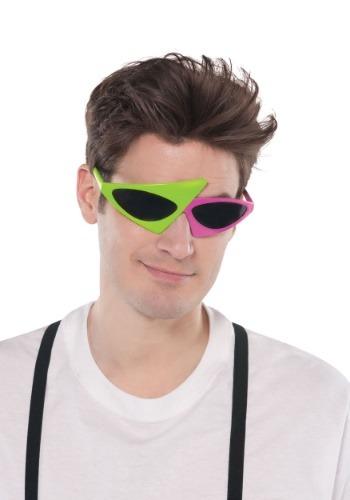 80's Asymmetrical Glasses