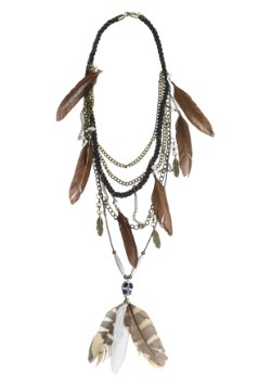 Vodoo Multi Strand Necklace