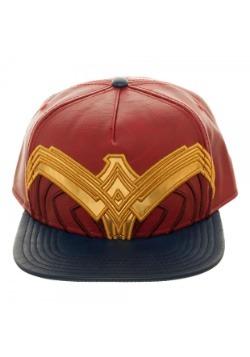 Wonder Woman Suit Up Applique Snapback Hat
