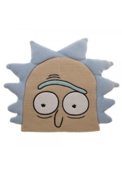 Rick and Morty Rick Big Face Beanie