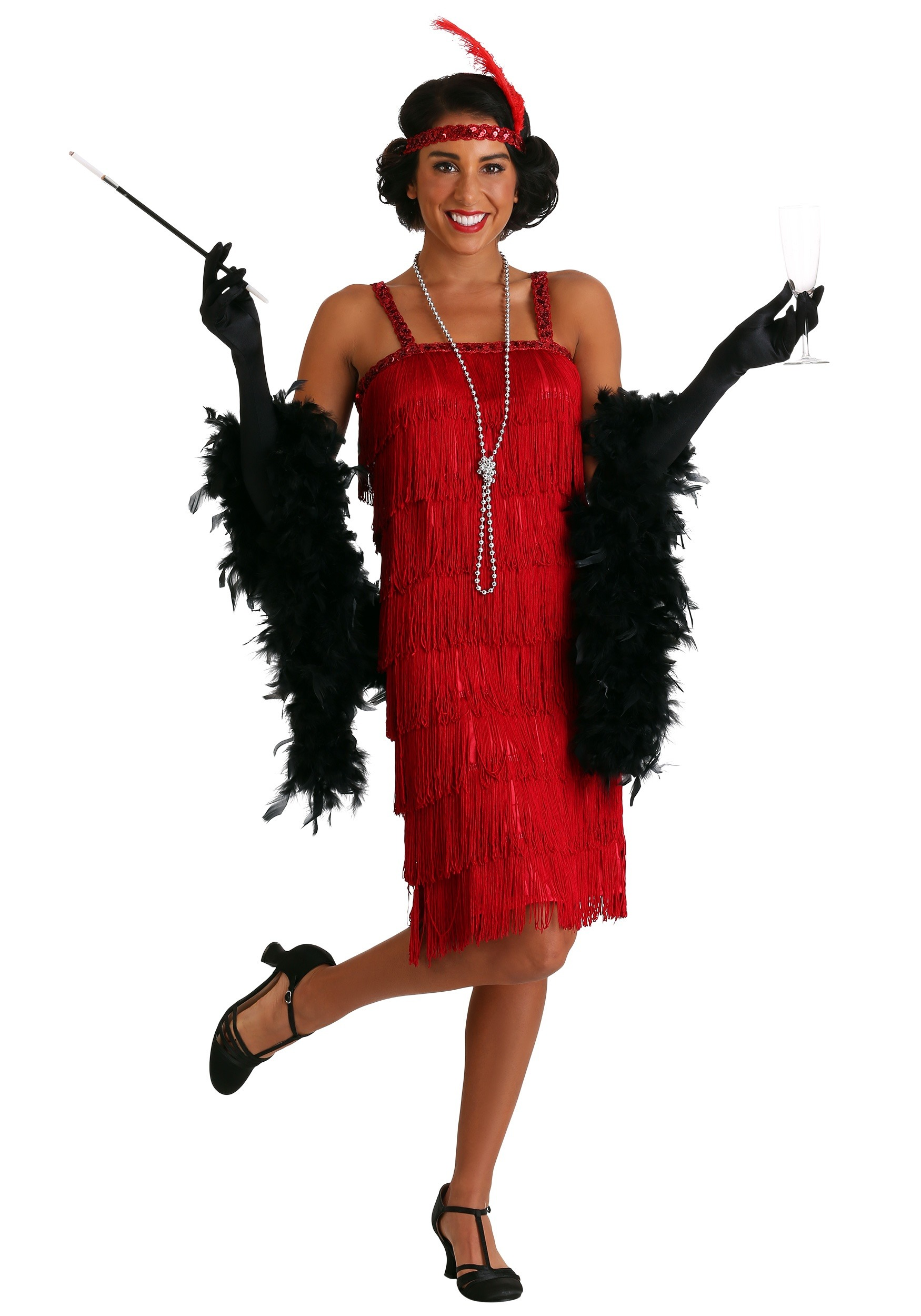 Sexy flapper outfit