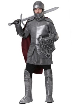 Men's Royal Knight Plus Size Costume
