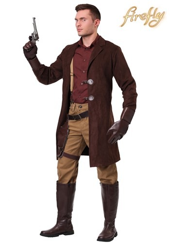 Firefly Malcolm Reynolds Plus Size Men's Costume