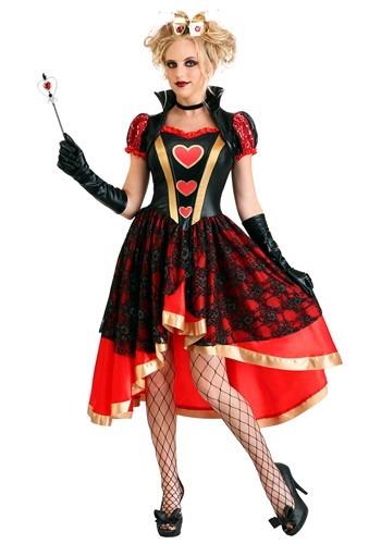 Women's Dark Queen of Hearts
