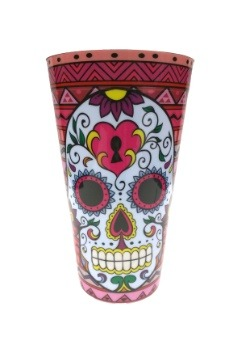 Red Day of the Dead Party Cup