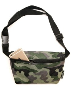 Army Camouflage Print Fydelity Fanny Pack