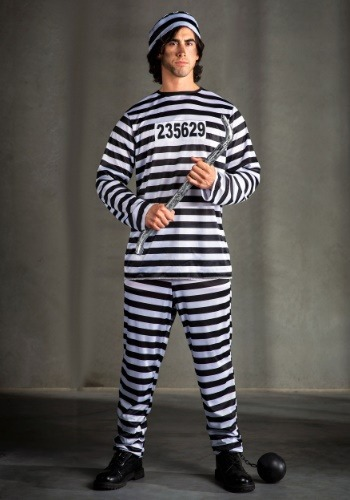 Mens Prisoner Costume