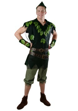 Adult Deluxe Peter Pan Costume