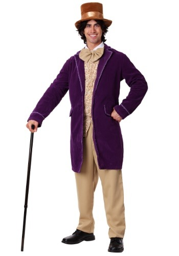 Deluxe Willy Wonka Costume