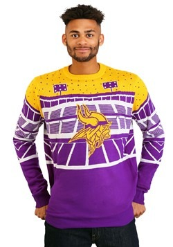 Minnesota Vikings Light Up Bluetooth Ugly Christmas Sweater