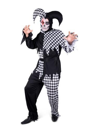 Men's Evil Jester Costume