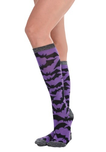 Bat Knee High Socks