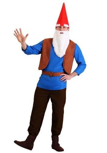 Men's Gnome Costume