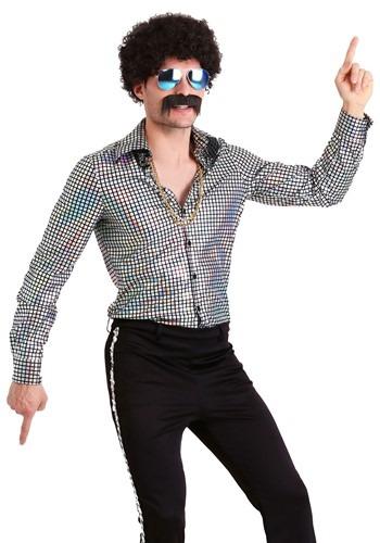 Mens Disco Ball Shirt