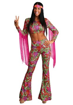 World Peace Women's Hippie Costume