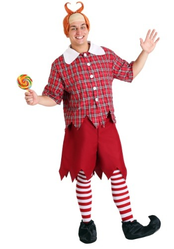 Plus Size Red Munchkin Costume