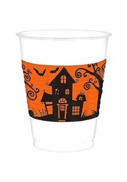 Halloween Plastic 16 oz. Party Cup
