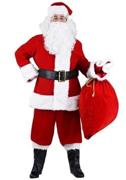 Plus Size Premiere Santa Suit Costume