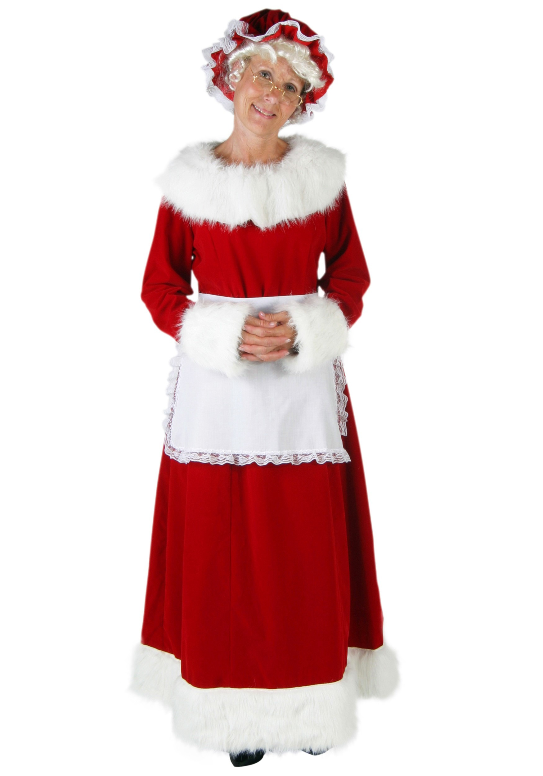 68ee16ace9a Plus Size Mrs Claus Costume