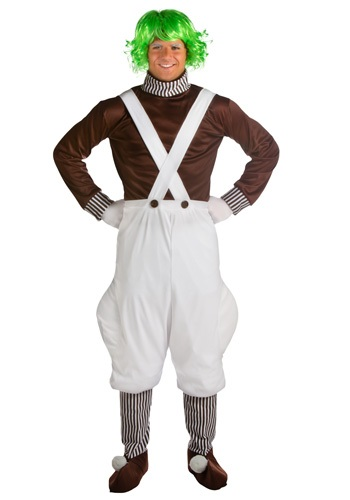 Plus Chocolate Factory Worker Costume