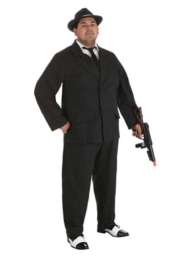 Deluxe Plus Size Gangster Costume