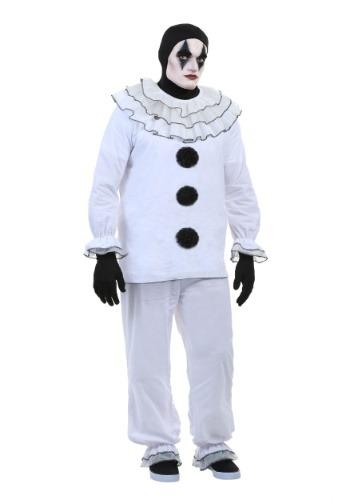 Plus Size Vintage Pierrot Clown Costume