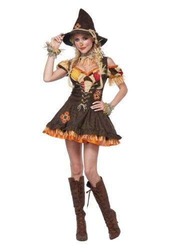 Women's Sassy Scarecrow Costume