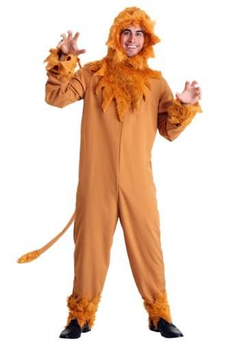 Plus Size Cowardly Lion Mens Costume