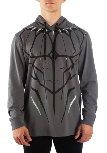 Men's Black Panther Cosplay Costume Hoodie