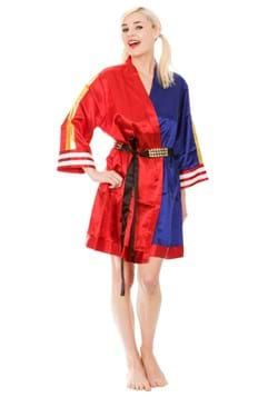 Harley Quinn Suicide Squad Cosplay Satin Robe
