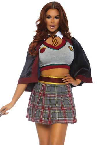 Women's Spell Casting School Girl Costume