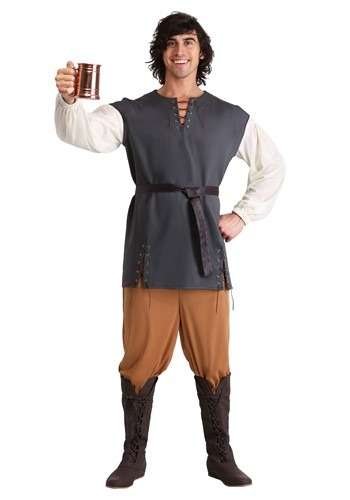 Plus Size Medieval Merry Man Costume
