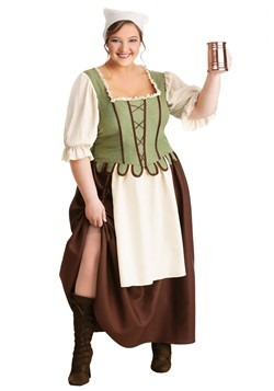 Medieval Pub Wench Costume Plus Size