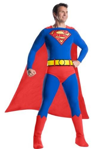Men's Classic Premium Superman Costume