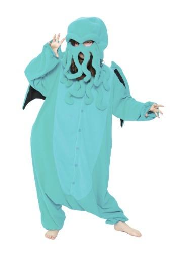 Adult Cthulhu Kigurumi Costume
