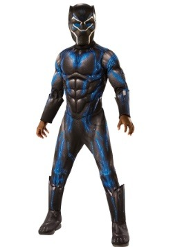 Black Panther Child Deluxe Battle Blue Suit
