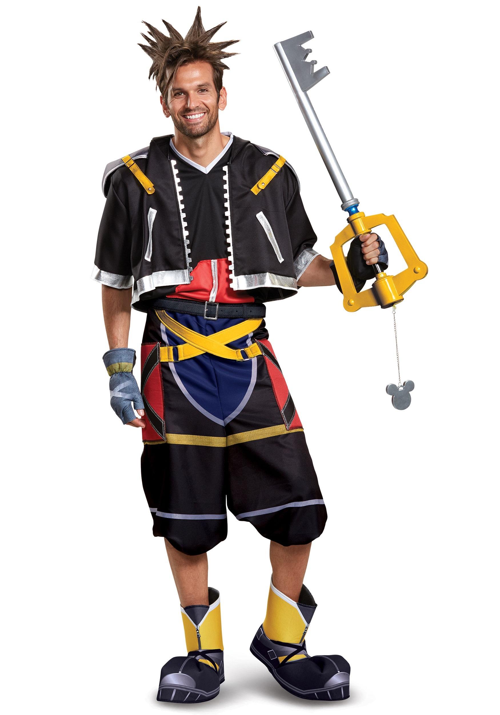 Deluxe Disney Kingdom Hearts Sora Mens Costume