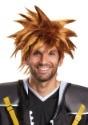 Disney Kingdom Hearts Adult Sora Wig