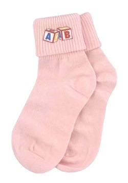 Pink Big Baby Socks