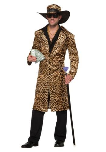 Men's Funky Leopard Pimp Costume