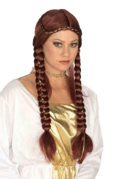 Women's Auburn Renaissance Braided Wig