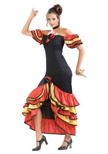 Women's Spanish Lady Costume