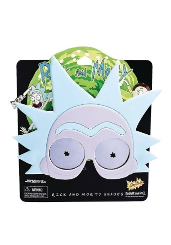 Rick and Morty Adult Rick Sunstaches