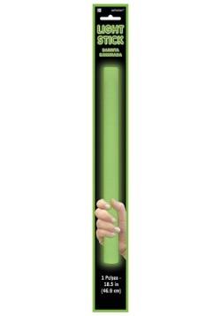 "Green Foam Light Up Glow Stick - 18"""
