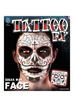 Day of the Dead Temporary Tattoo