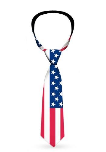 United States American Flag Necktie1