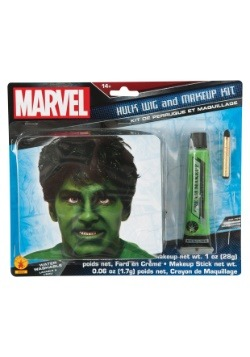 Incredible Hulk Makeup and Wig Kit